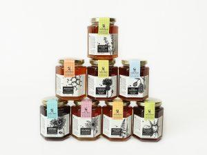 Varietal Honey Jars